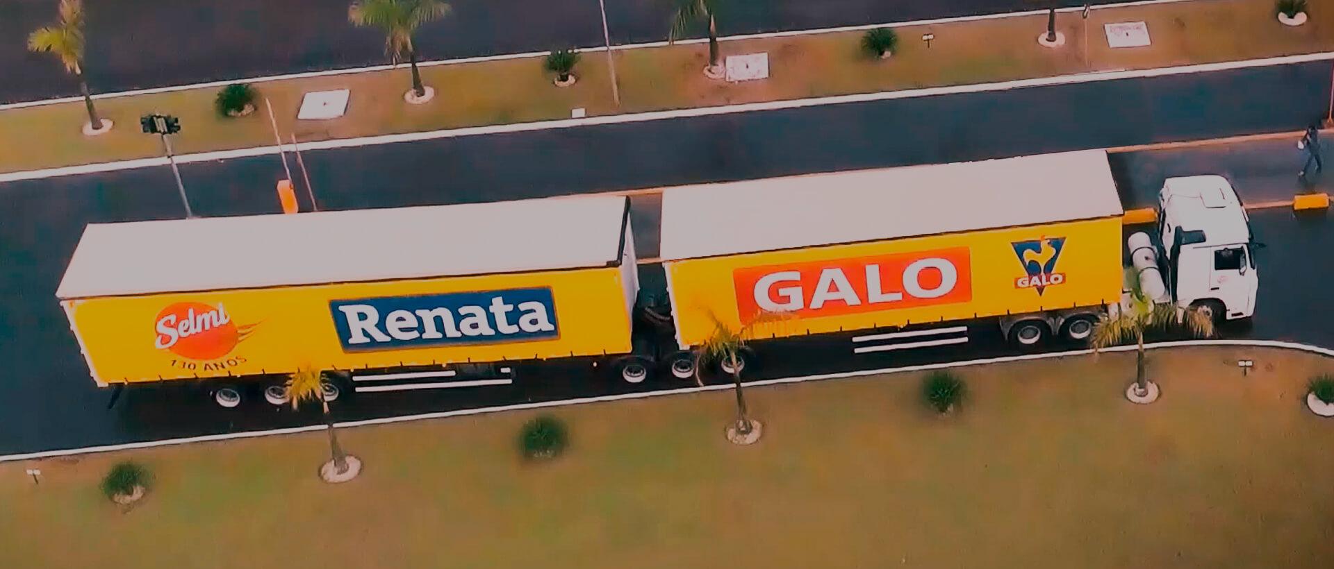 Ilustração Logistics of Distribution