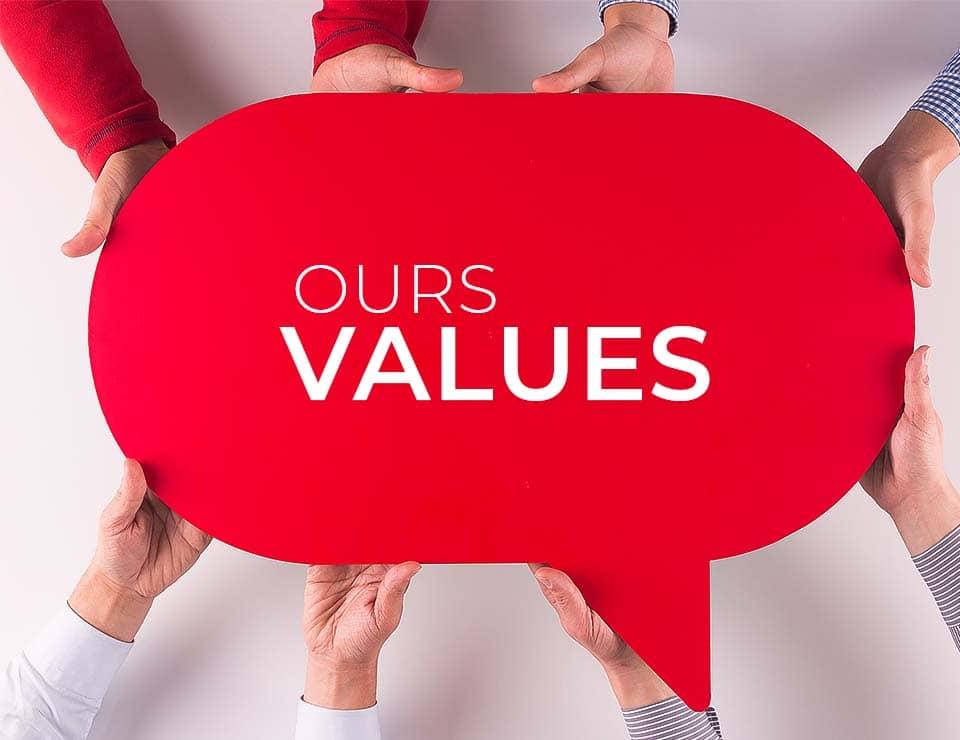 Ilustração Values